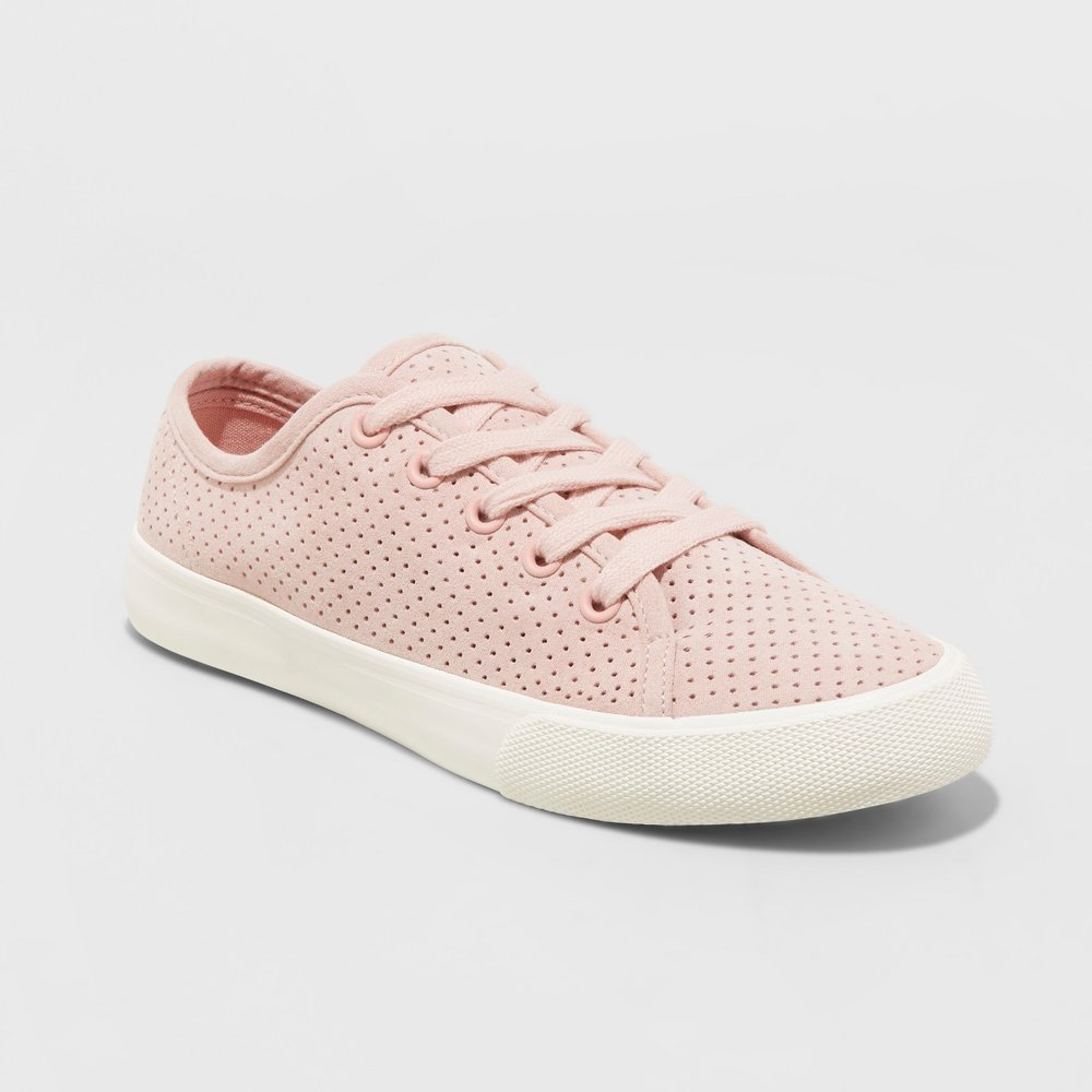 Women's Jena Lace Up Perforated Sneakers Universal Thread.jpg