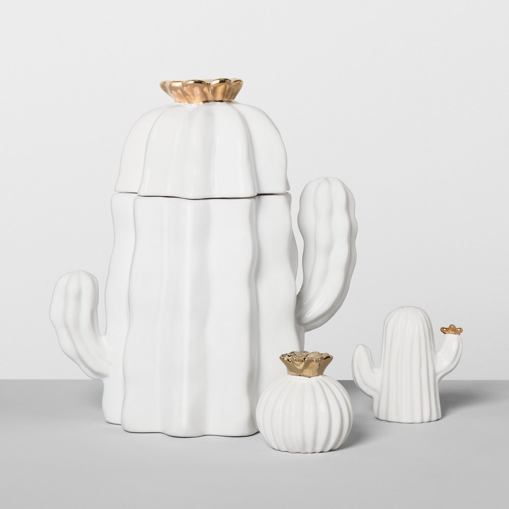 Opalhouse Cactus Ceramic Kitchen Accessories