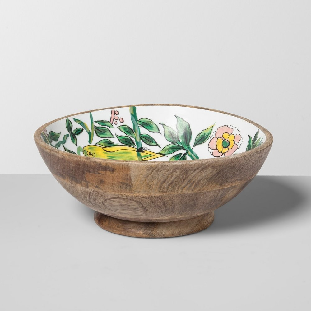 Opalhouse Mango Wood Serving Bowl