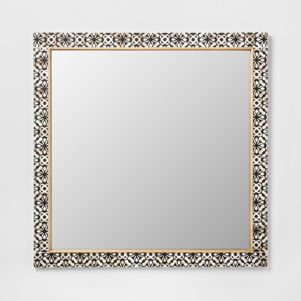 Opalhouse Havana Pieced Mirror Black