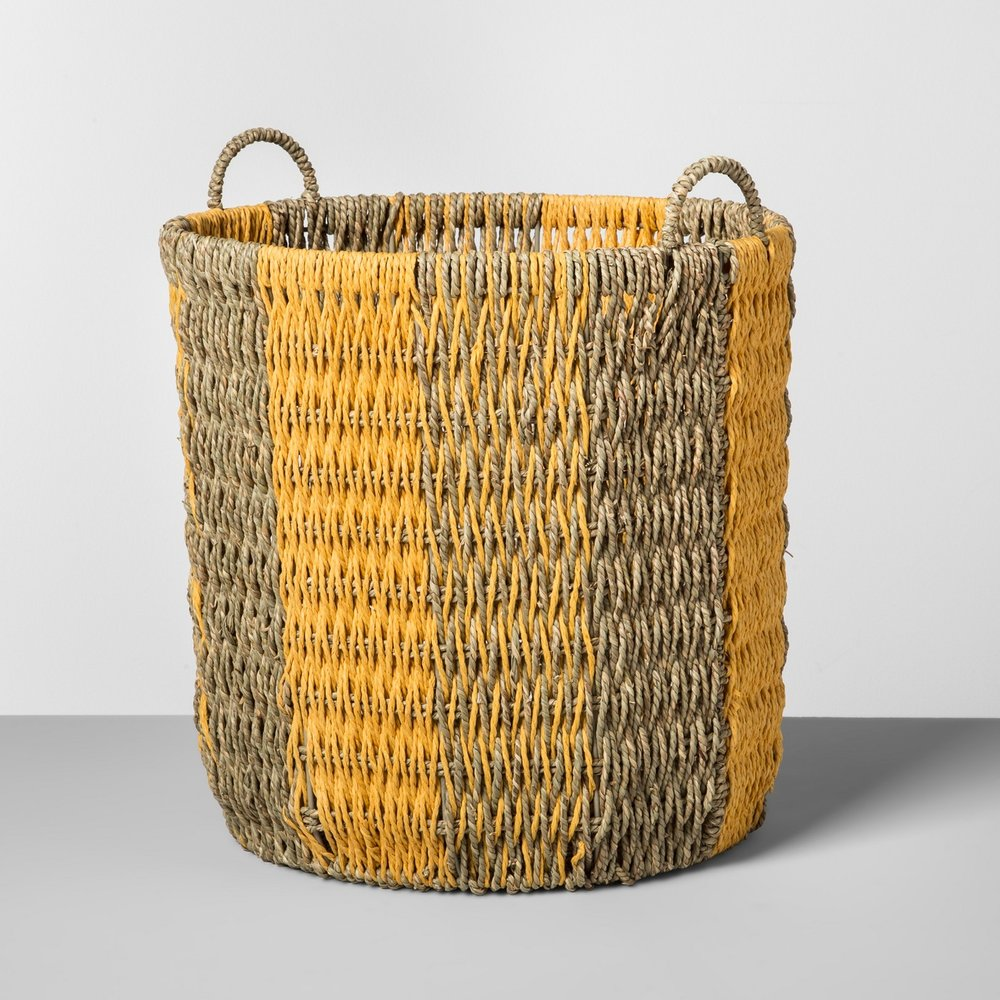 Opalhouse Seagrass Basket Large