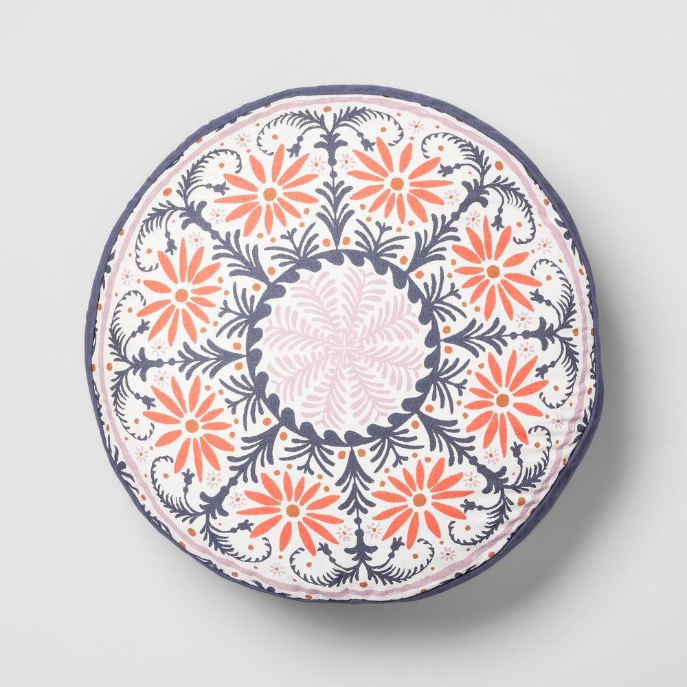 Opalhouse Round Medallion Floor Pillow