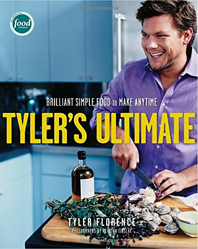 Tyler's Ultimate - by Tyler FlorenceThis is another one that's just on my wishlist for now, but I used to watch Tyler Florence on the Food Network allll the time when I first got married. His passion for simple, flavorful food makes all his meals exciting.This book has a great mix of unique recipes that have interesting flavors (like Grilled Eggplant with Lemon, Yogurt, Pomegranate and Mint, or Chicken Paillard with Fresh Fig Salad and Blue Cheese), and classics like The Ultimate Spaghetti and Meatballs, or Barbecued Ribs. I'm not kidding when I say that every. single. recipe. in this book sounds amazing. Someone buy it for me, pleeeease!Grab it here.