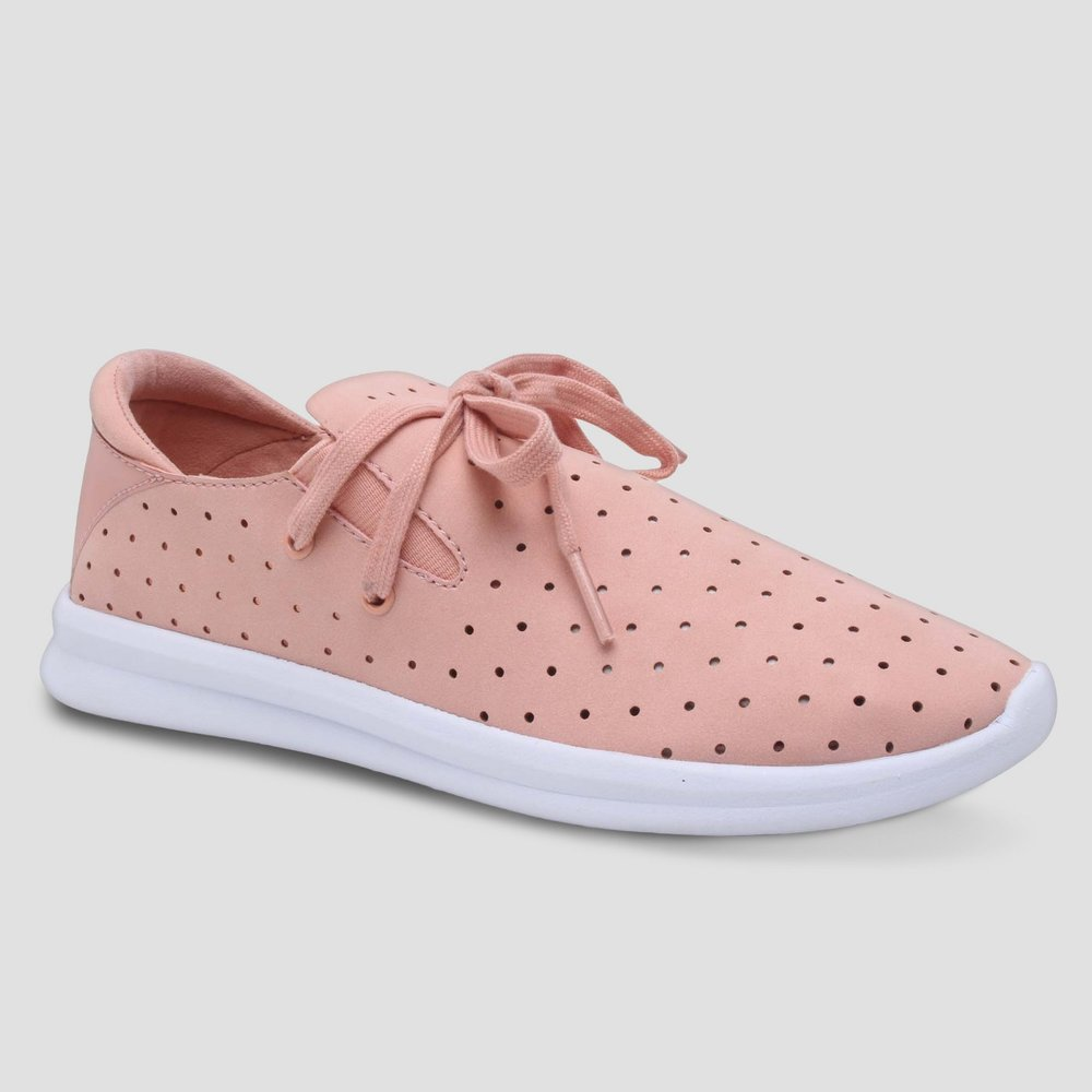 Janai Lace Up Perforated Sneakers