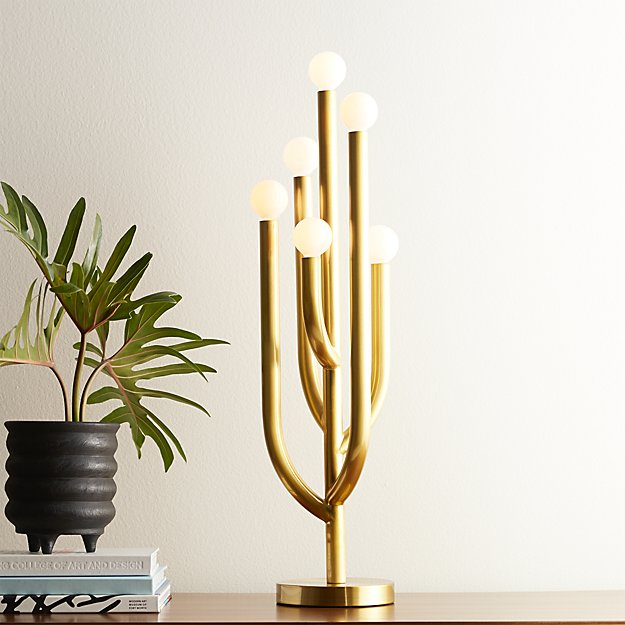 Cacti Globe Table Lamp