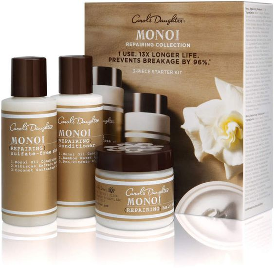 Monoi Reparing 3-Piece Starter Kit
