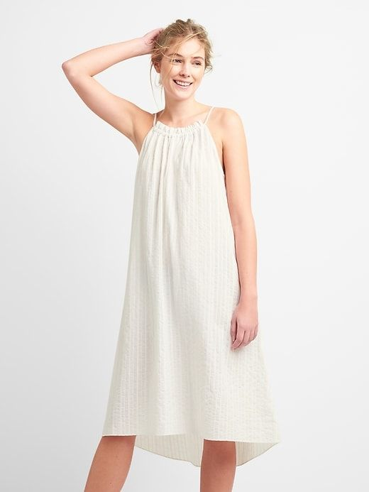 Stripe Cover Up Dress