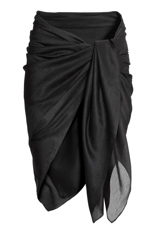 Black Sarong