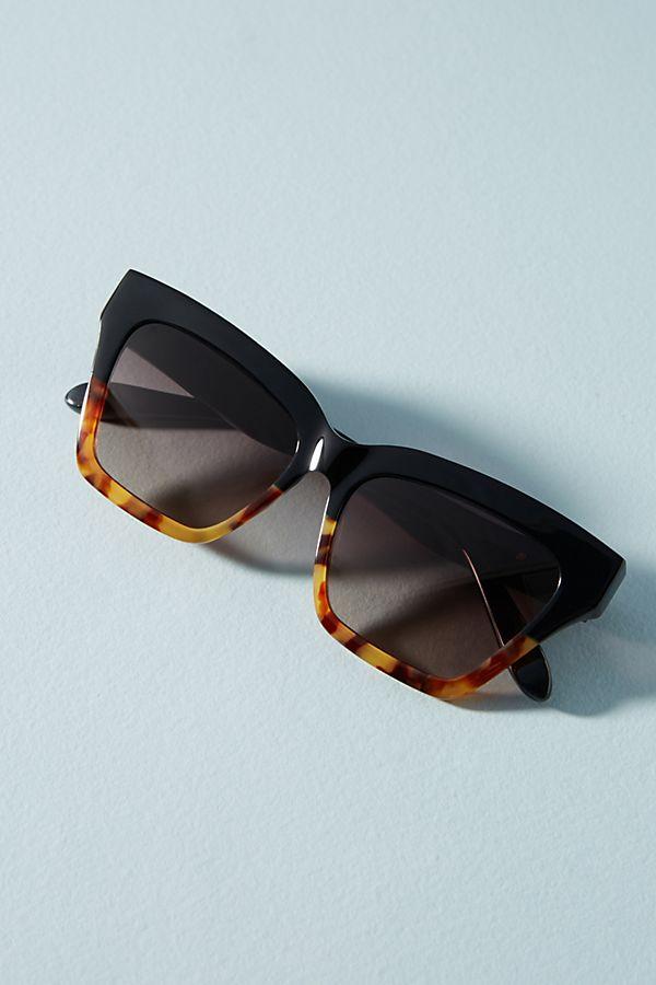Half & Half Tortoise Shell Sunglasses
