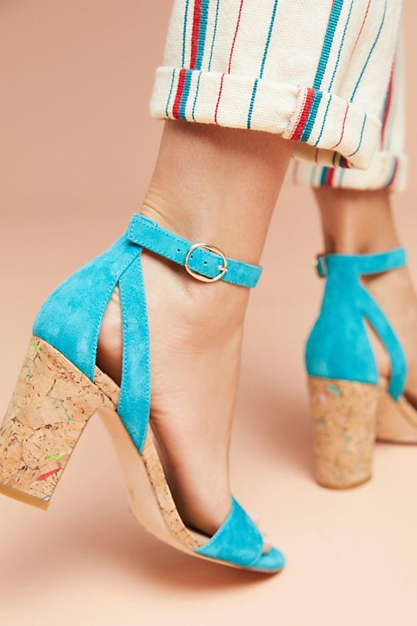 Femme Cork Heels