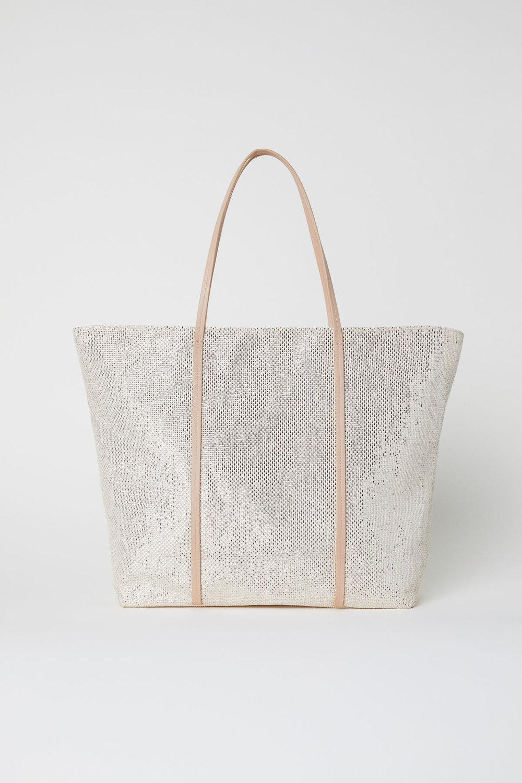 Metallic Straw Bag