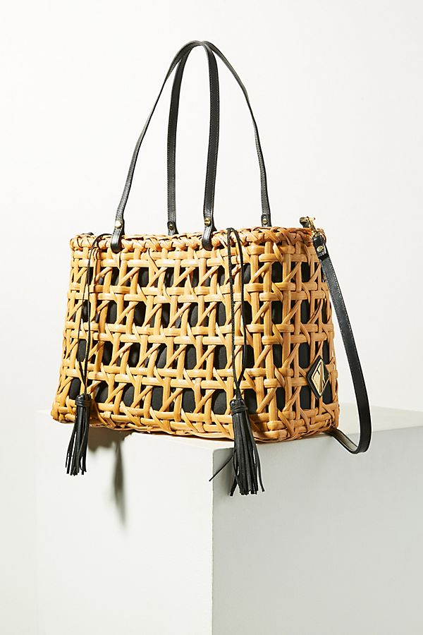 Woven Charlie Tote