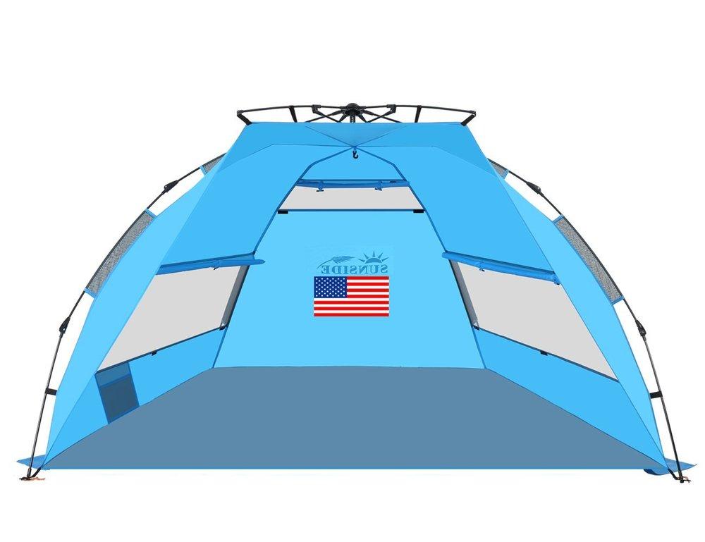 Instant Pop-Up Beach Tent