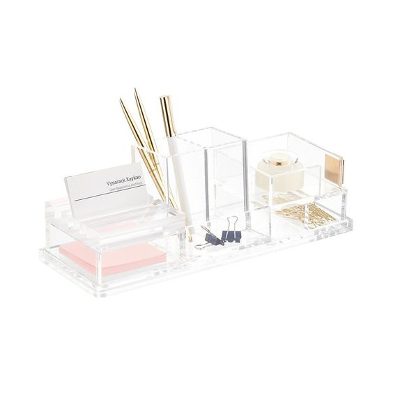 Acrylic Desktop Storage Kit
