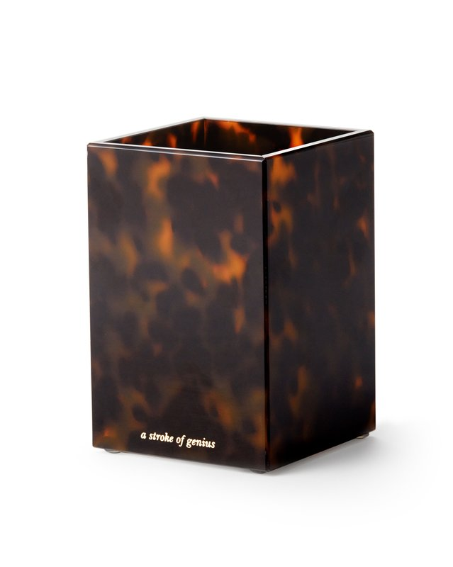 Tortoise Shell Pencil Holder