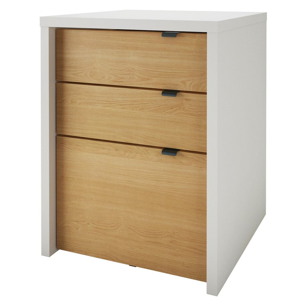 Chrono Three-Drawer File Cabinet