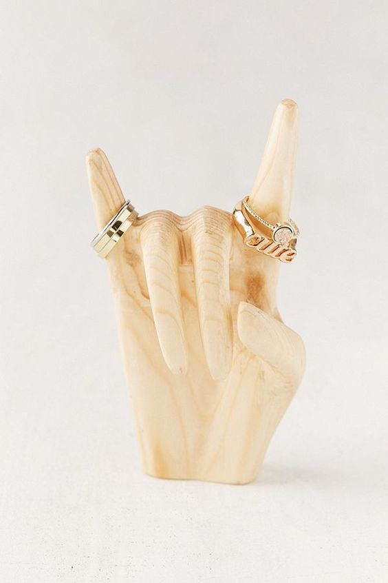Rock On Ring Holder