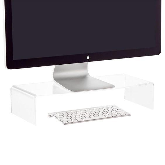 Acrylic Monitor Riser