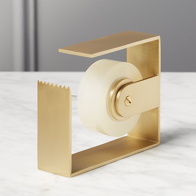 Brass Tape Dispenser