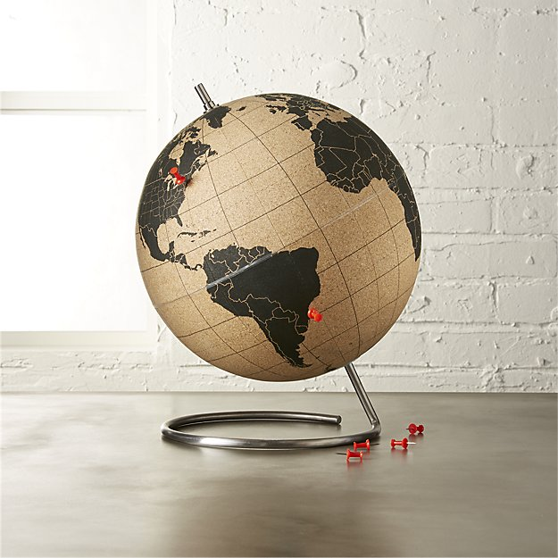 Decorative Cork Globe