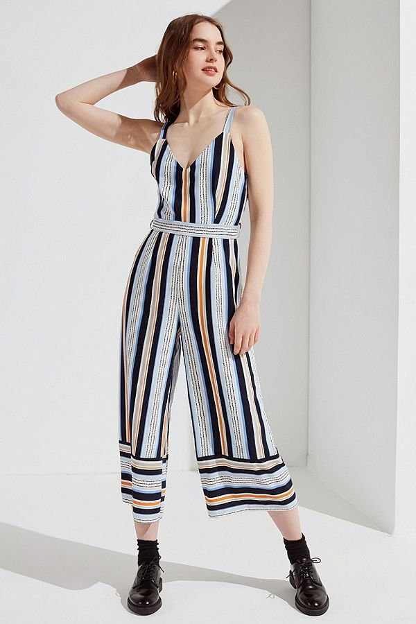 Striped Jumpsuit