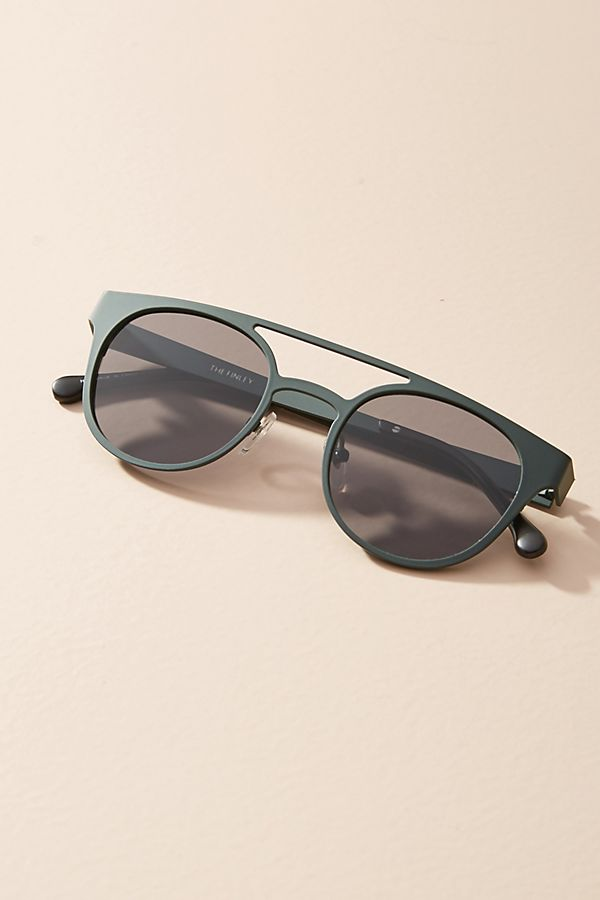 Komo Finch Brow-Bar Sunglasses