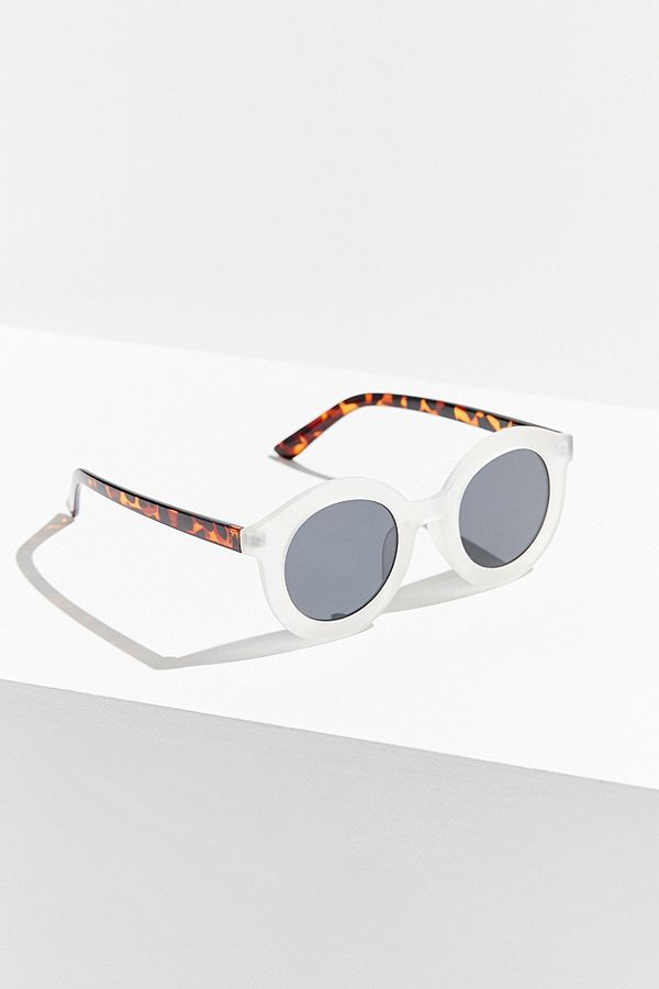 Fairfax Round Frosted Sunglasses