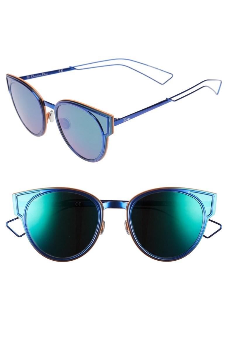 Dior Sculpts Cat Eye Sunglasses