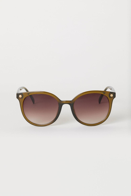 Khaki Green Sunglasses