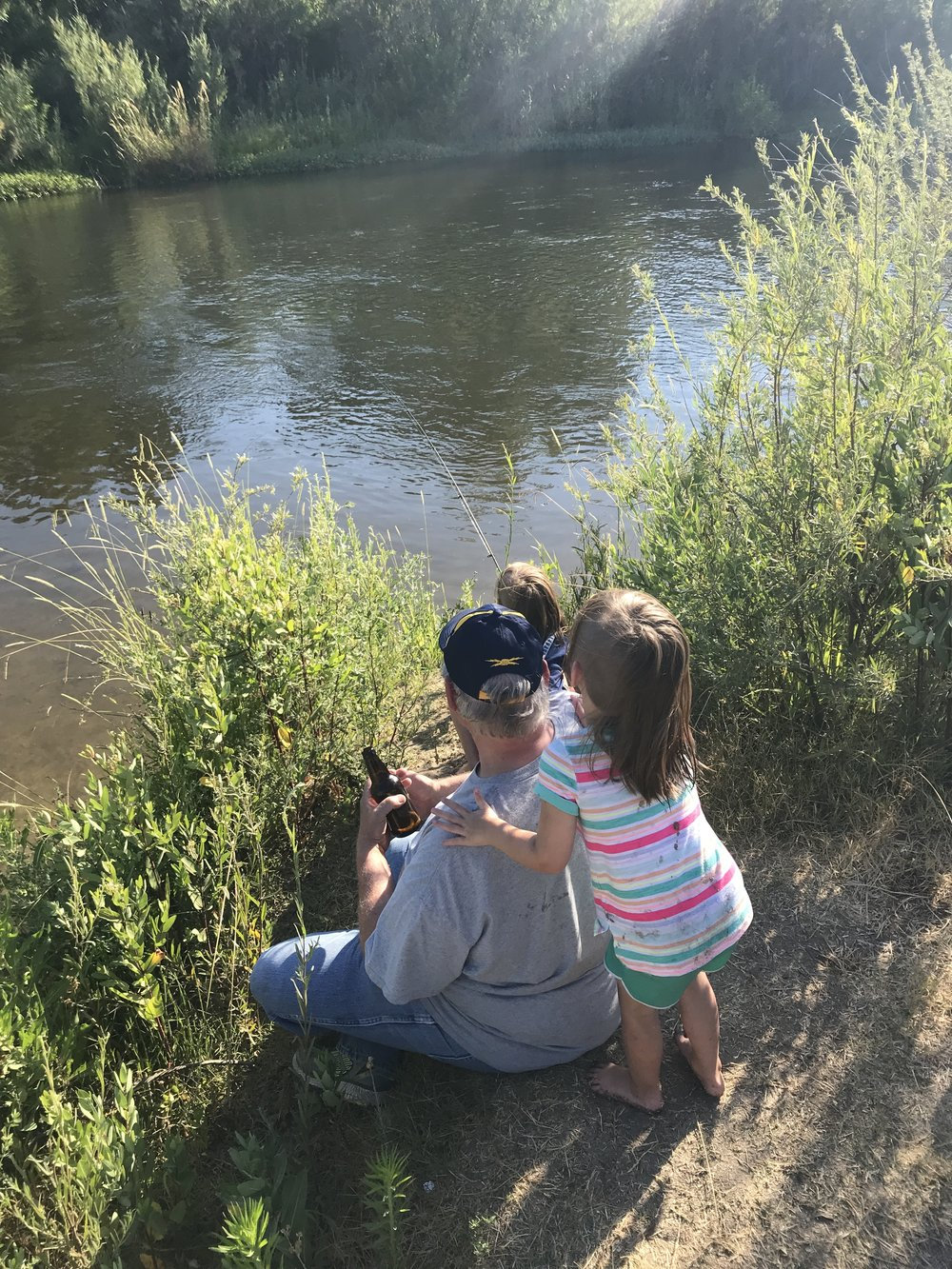 Fishing with Papa!