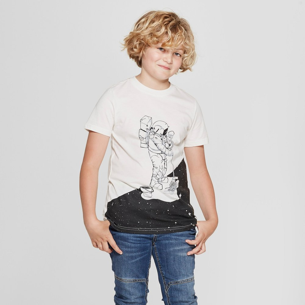 Boys' Astronaut Graphic Tee - $5