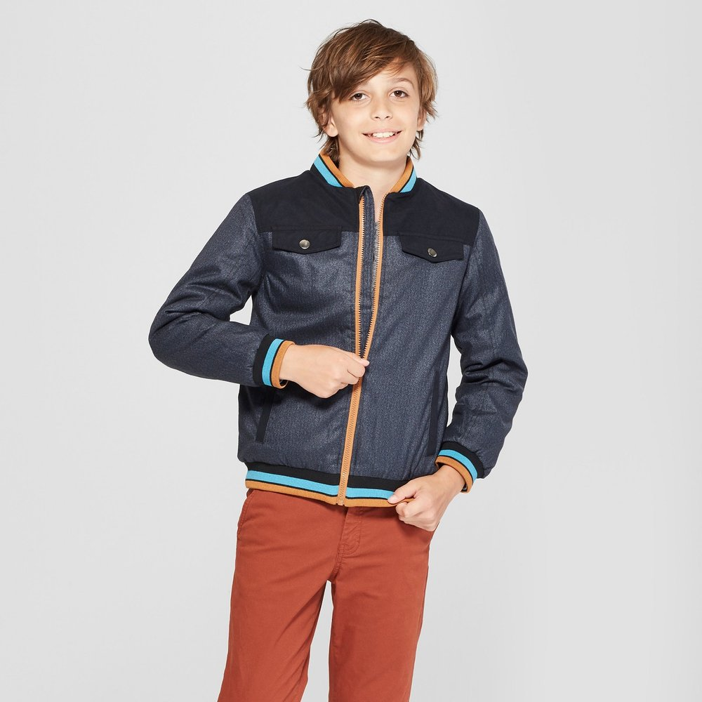 Boys' Bomber Jacket - $35