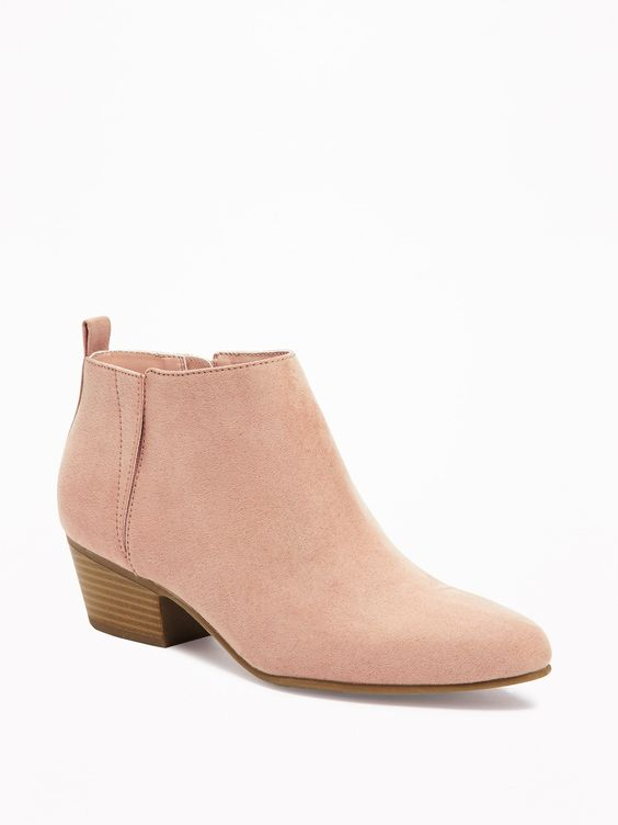 Old Navy: Sueded Ankle Boot - $38