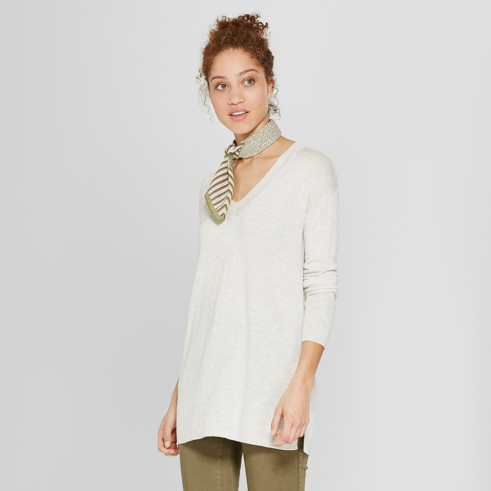 Target: A New Day Luxe V-Neck Sweater - $18