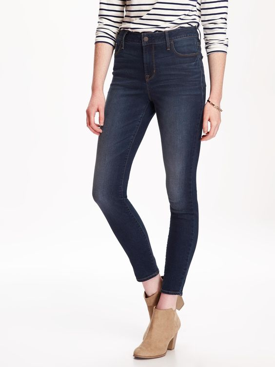Old Navy: Rockstar High-Rise Jeans - $25