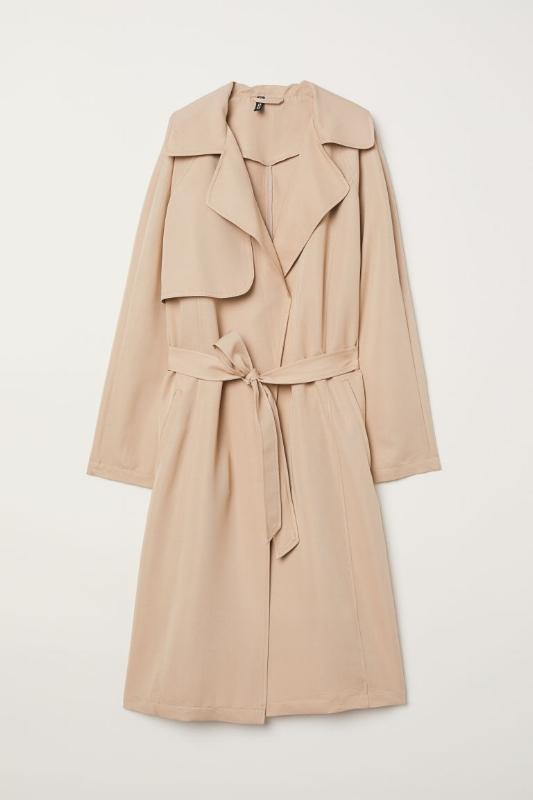 H&M: Lightweight Trenchcoat - $60