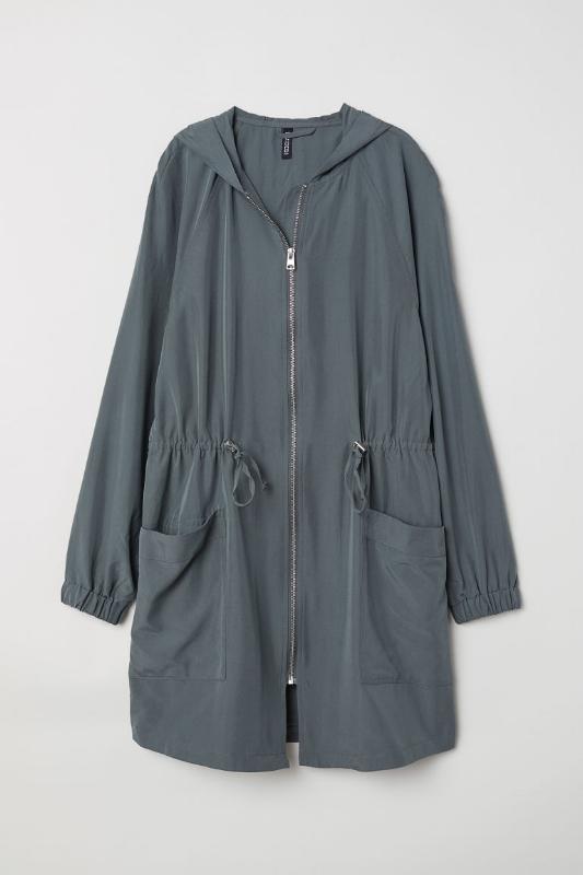 H&M: Modal-Blend Parka - $40