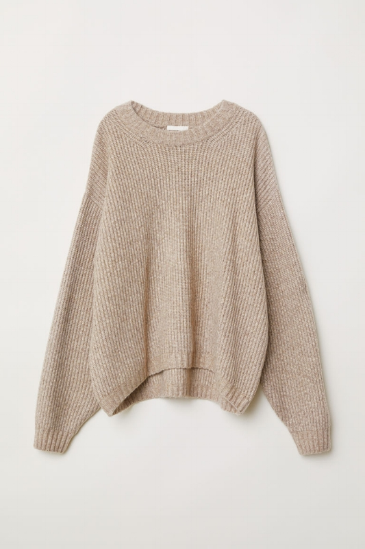 H&M: Chunky Knit Sweater - $35