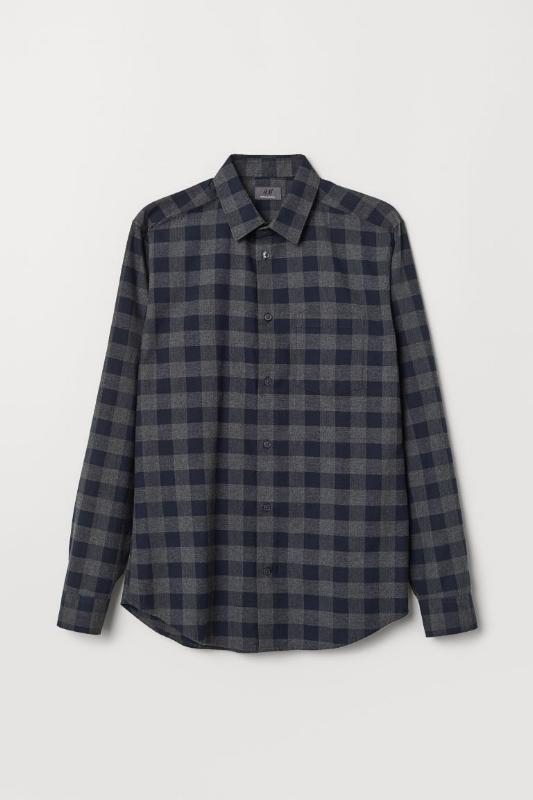 H&M: Regular-Fit Flannel - $40