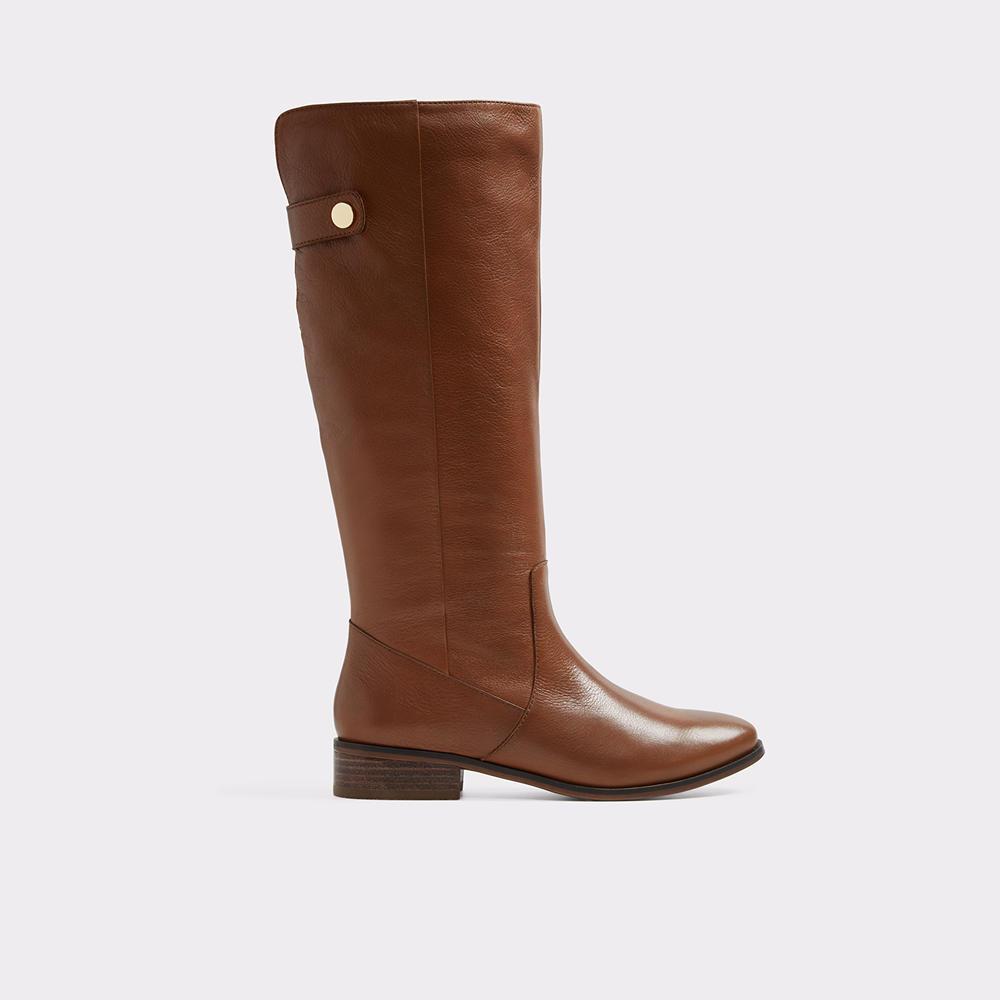 Aldo: Ginnis Cognac Boots - $150