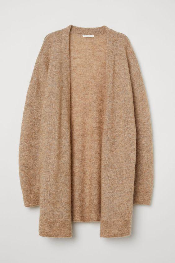 H&M: Mohair-Blend Cardigan - $70
