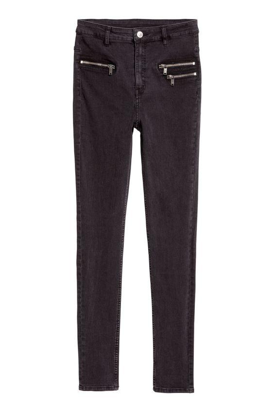 H&M: Slim High Ankle Jeans $30