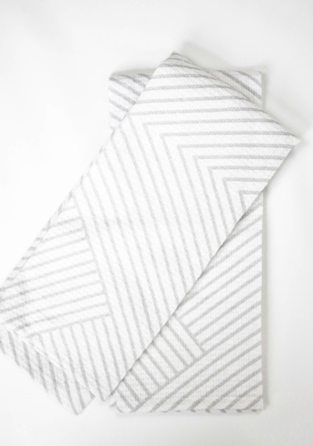 modern geometric tea towels
