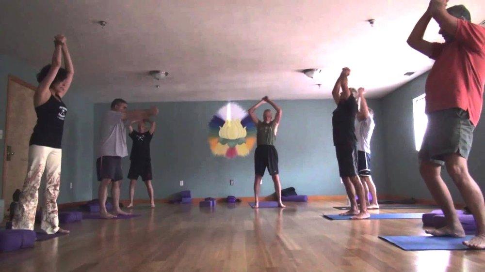 Yoga Warriors Pose
