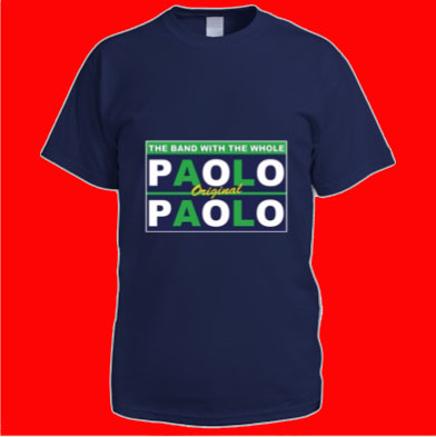 Paolo aka TheMightySmallPolo Mint Design T-Shirt - The Band With The Whole
