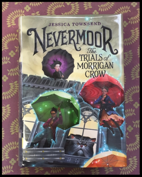 Library copy of Nevermoor by Jessica Townsend
