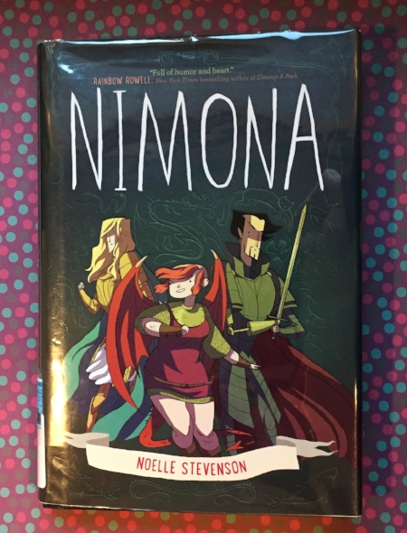 Library copy of Nimona