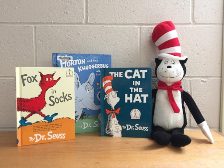 Fox in Socks, Horton and the Kwuggerbug: and more lost stories, and of course, The Cat in the Hat!