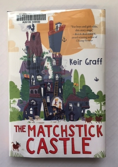 The Matchstick Castle available now from Keir Graff.