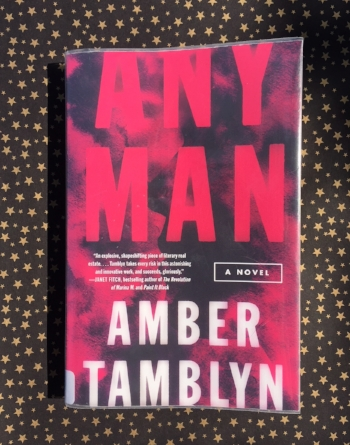 Library copy of Any Man by Amber Tamblyn